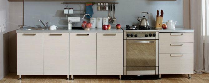 Кухонные модули для нижнего ряда