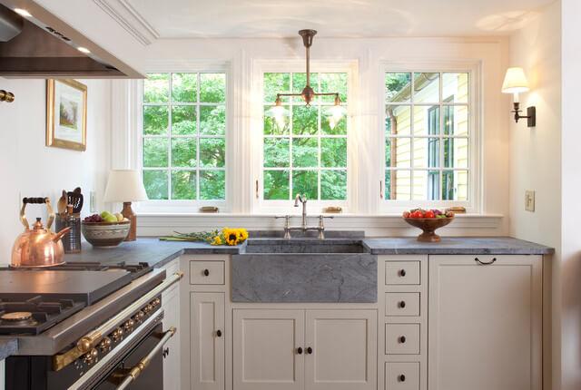 Гранитная кухонная мойка