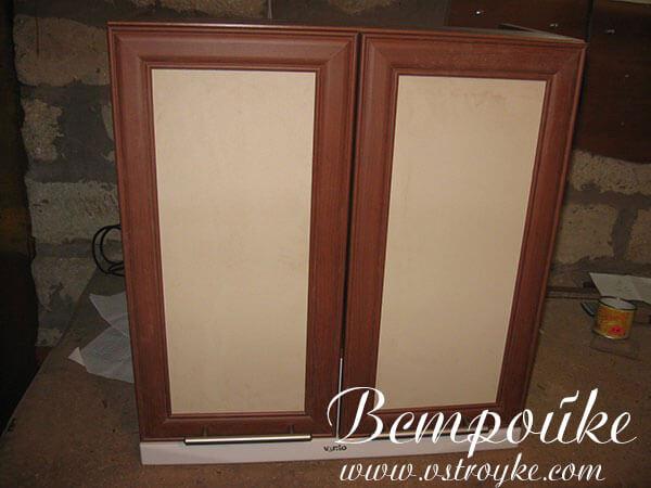 Шкаф для вытяжки на кухне