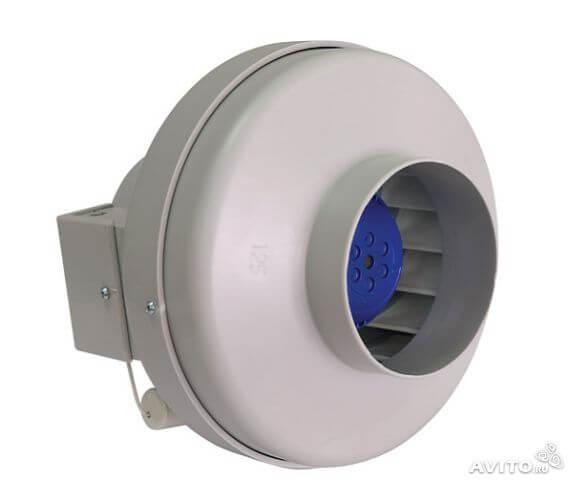 Круглый канальный вентилятор VCZpl