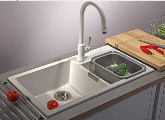 Мойка для кухни blanco из синтетического камня