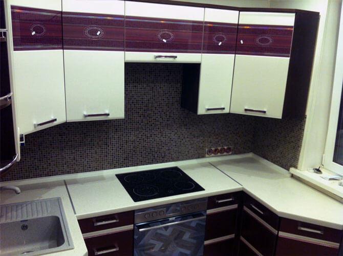 навесные шкафы для кухни МДФ