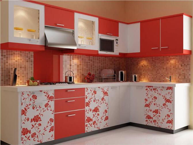 недорогая модульная мебель для кухни