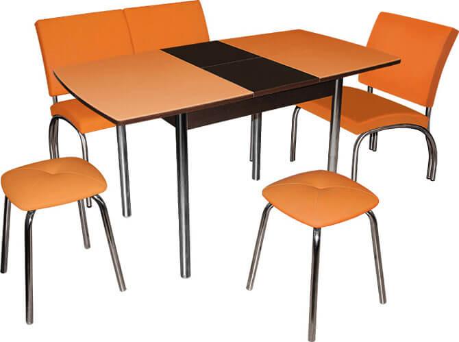 Обеденная группа со столом трасформером