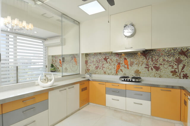 панно для кухни мозаика
