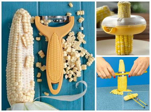 Очистители початков кукурузы