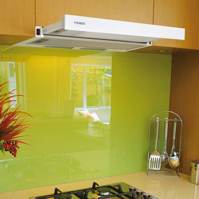 Вытяжка для кухни без воздуховода PYRAMIDA TL-50 (white)