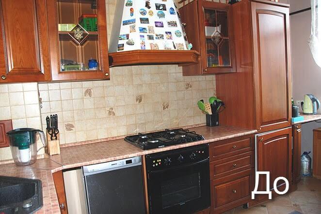 Замена столешницы для кухни