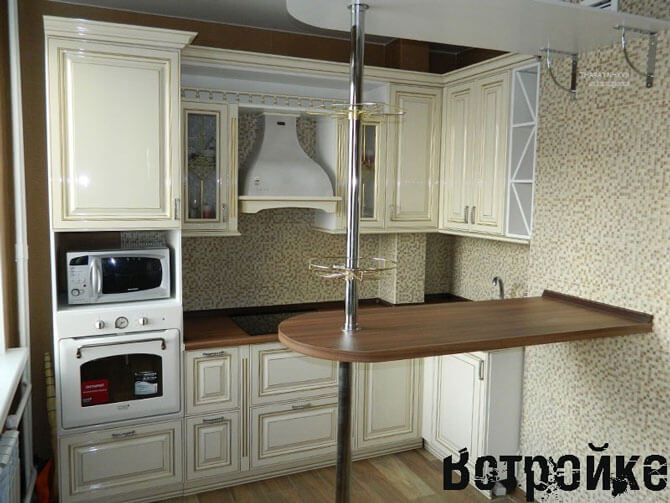 Барная стойка на кухне своими руками 710