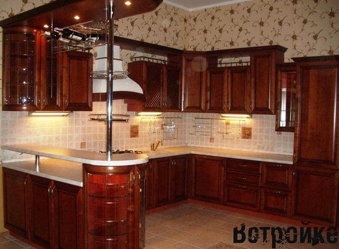 Барная стойка для кухни Мария