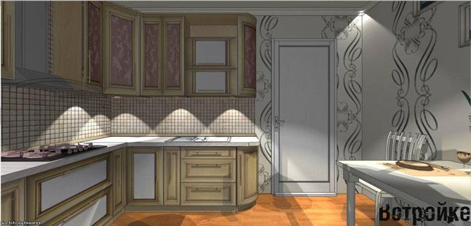 фото кухни 10 кв м