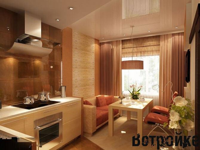 Дизайн кухни 14 кв