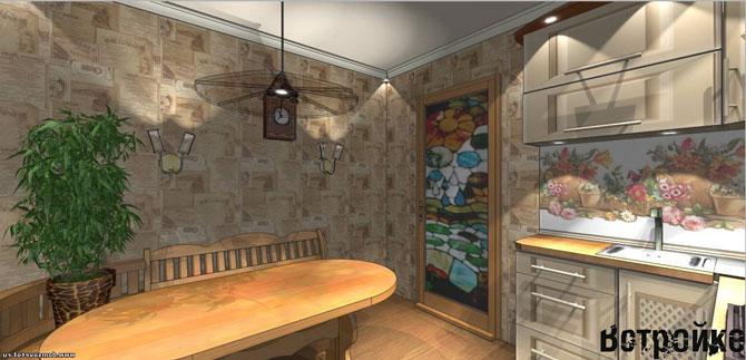 Дизайн кухни 15 кв м