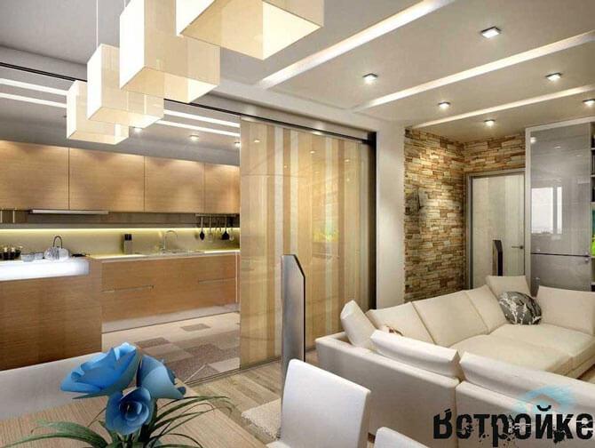 Дизайн кухни 20 кв м фото
