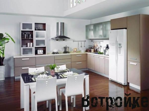 кухня студия 20 кв м