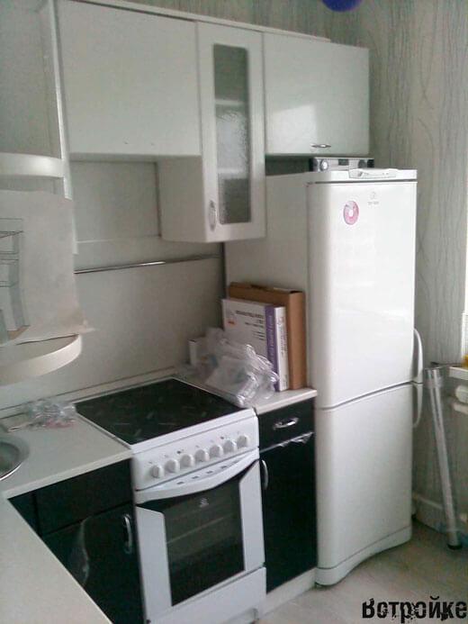 Кухни 5 кв м фото