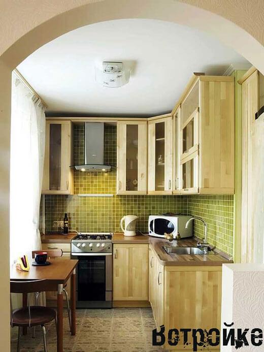 Дизайн кухни 35 кв м