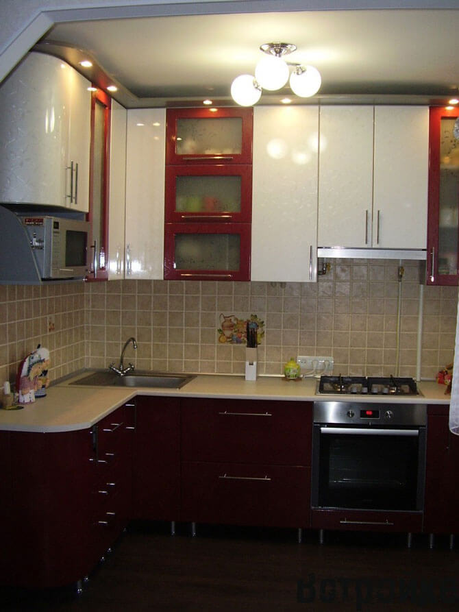 дизайн ремонта кухни 6 метров