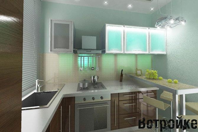 Дизайн кухни 6 м2