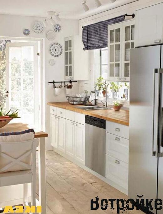 дизайн кухни икеа фото