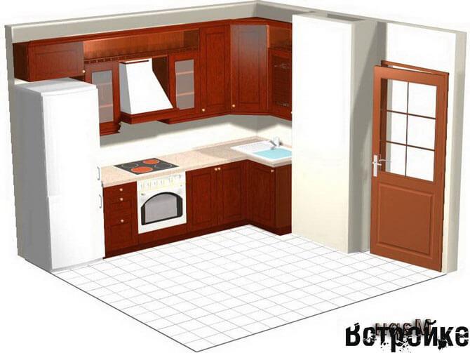 Дизайн кухни п 44