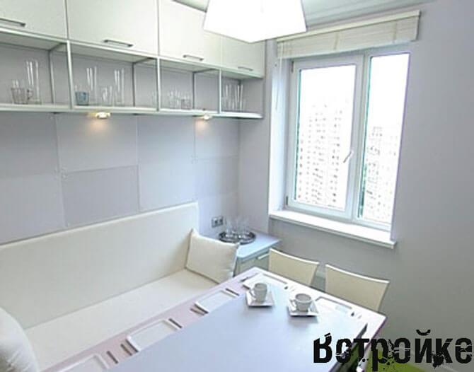 Кухонный диван для маленькой кухни
