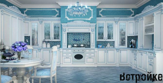 Итальянский стиль в интерьере кухни