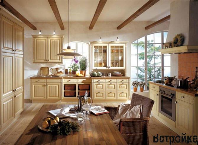 Дизайн кухни в итальянском стиле фото