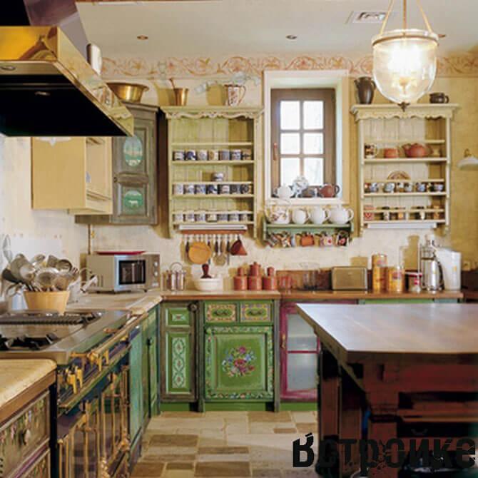 шторы для кухни в итальянском стиле фото