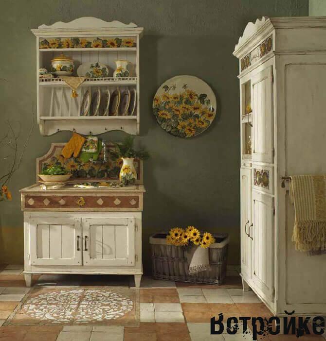 кухня в стиле прованс фото