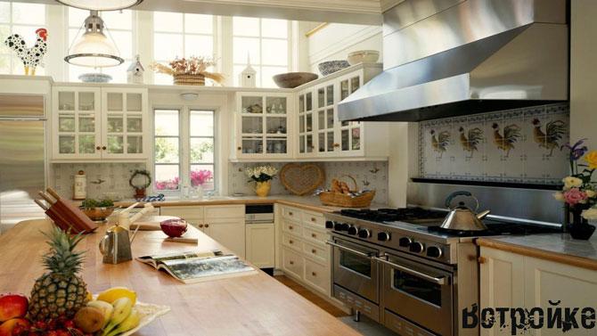 Дизайн квадратной кухни фото