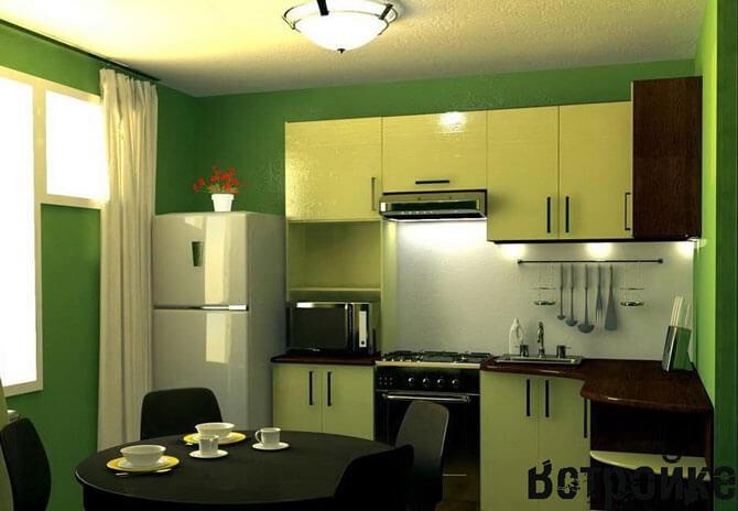 Дизайн кухни для 9 кв.м