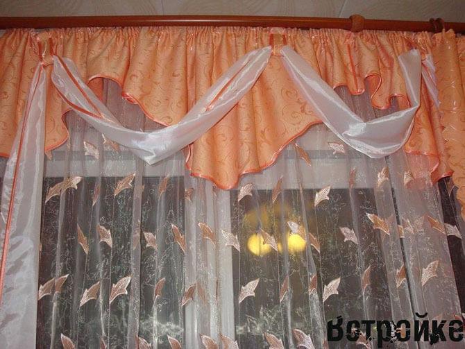 Тюли шторы с ламбрекенами