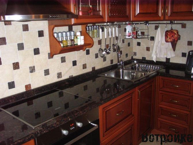 Каменные столешницы для кухни