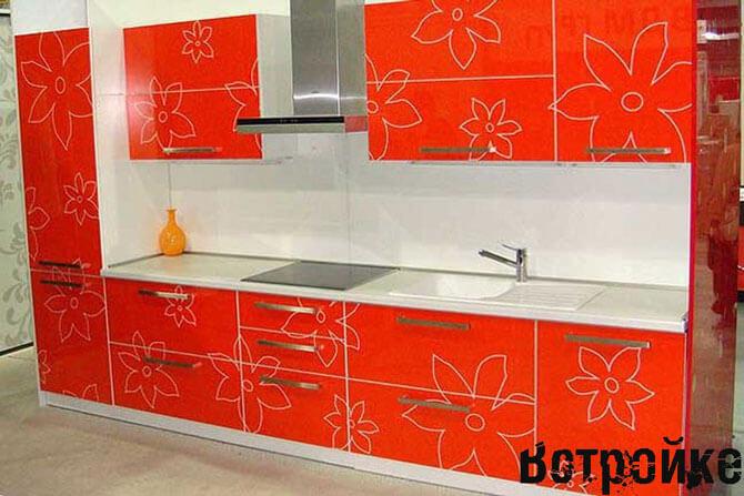 пластиковые фасады для кухни фото