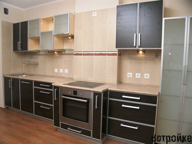 кухни с пластиковыми фасадами фото