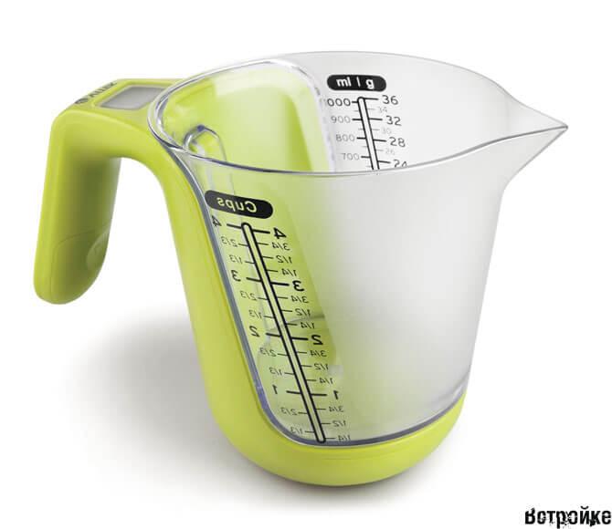 Электронные весы для кухни фото