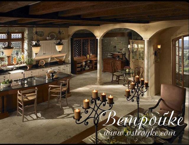 арки в интерьере кухни фото