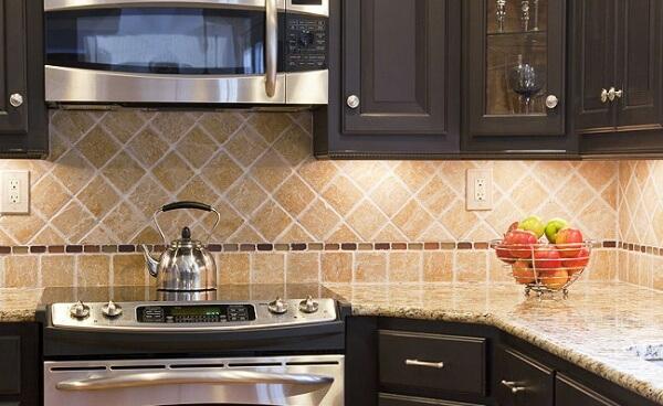 дизайн фартука для кухни фото