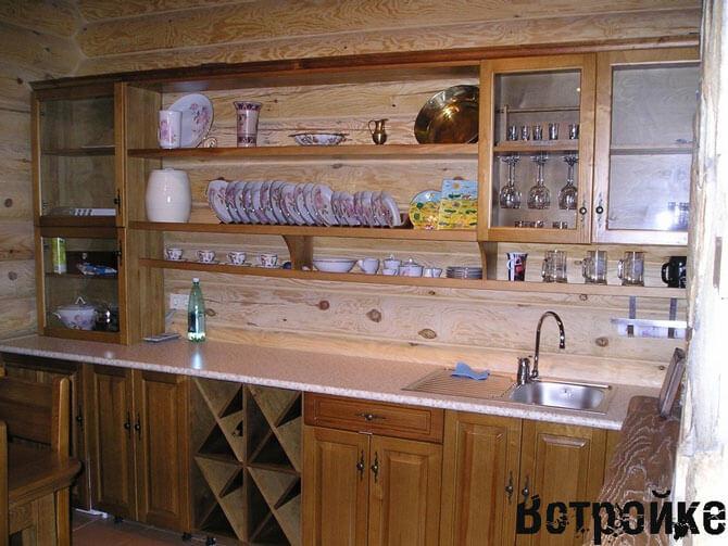 кухни под старину фото