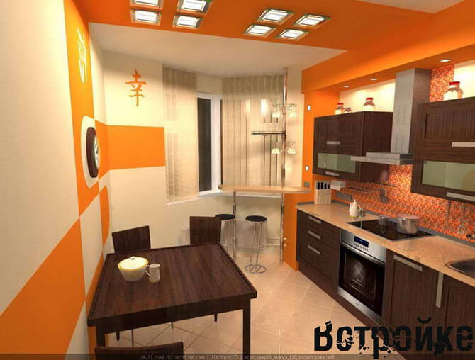 Эркерная кухня