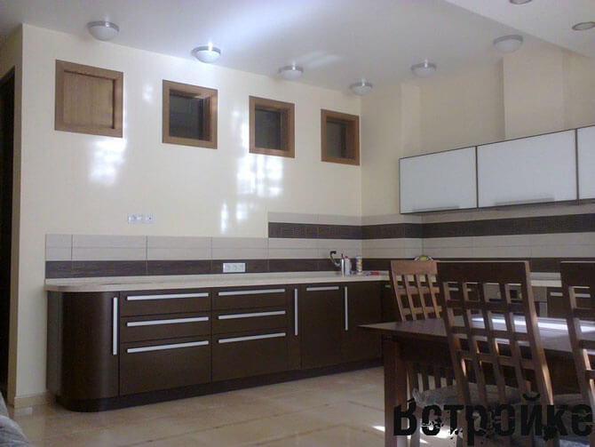 проект дизайн кухня столовая
