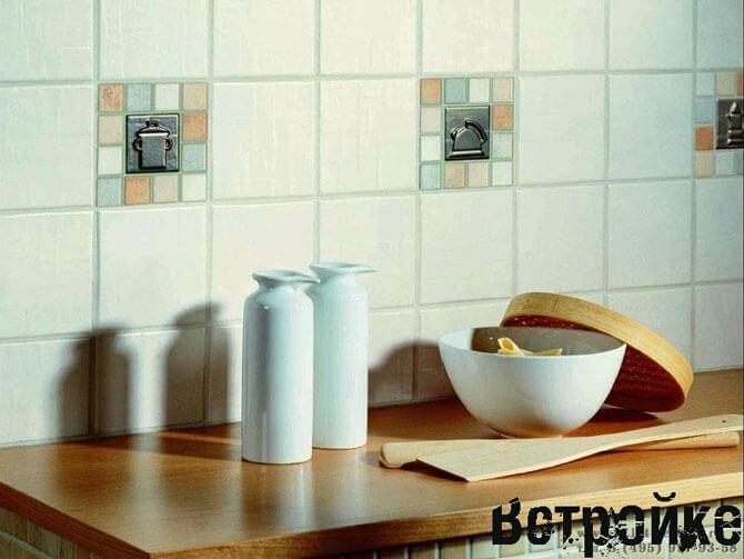 Дизайн плитки на кухню фото