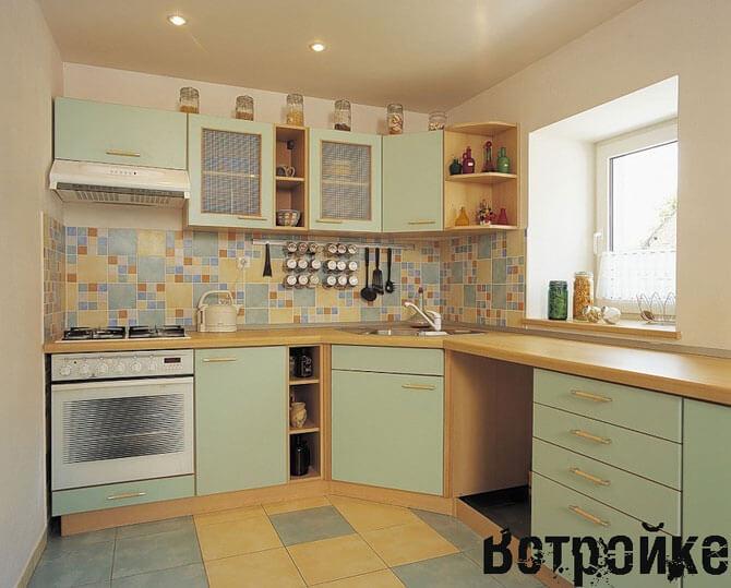 Дизайн пола на кухне фото