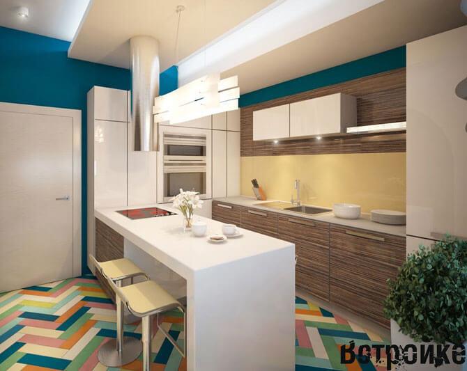 Стиль минимализм в интерьере кухня
