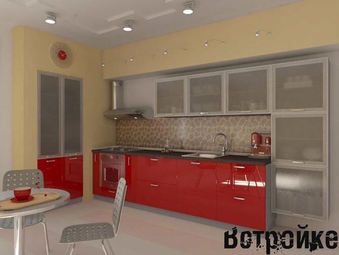 Дизайн кухни 12 м кв фото