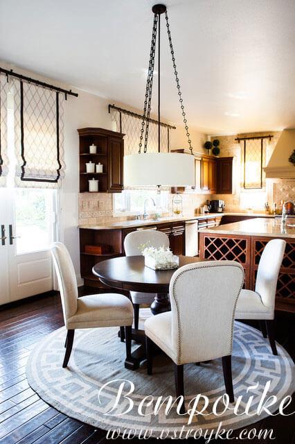 красивые гардины на кухню