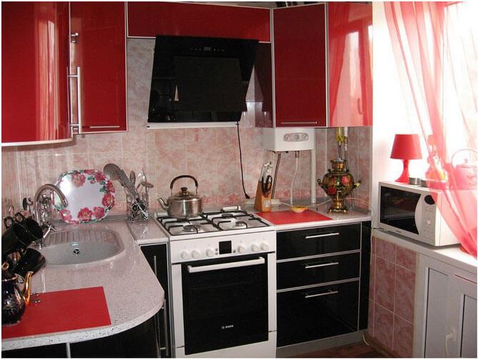 Кухня ремонт дизайн фото в хрущевке