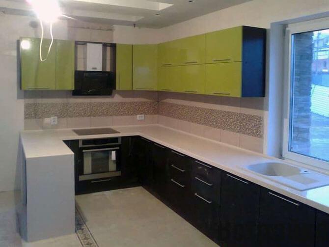 Кухня 4 на 5 дизайн