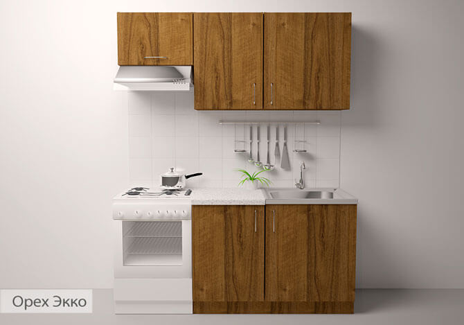 готовая мебель для кухни эконом
